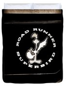 Road Runner Superbird Emblem Duvet Cover