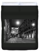 Roma By Night Duvet Cover