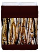 Rough Abstract Ceramic Surface Duvet Cover