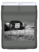 Route 66 - End Of The Road Duvet Cover