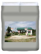 Route 66 - Paris Springs Missouri Duvet Cover