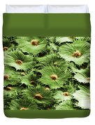 Russian Silverberry Leaf Sem Duvet Cover