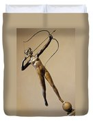 Saint Gaudens' Diana Of The Tower Duvet Cover