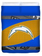 San Diego Chargers Duvet Cover