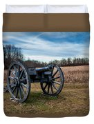 Saratoga Battlefield Duvet Cover