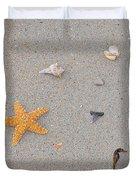Sea Swag - Natural Duvet Cover