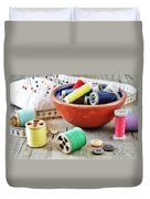 Sewing Supplies Duvet Cover