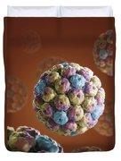 Simian Immunodeficiency Virus Duvet Cover
