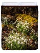 Snowdrop Woods Duvet Cover
