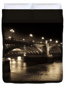 Southwark Bridge London Duvet Cover