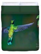 Sparkling Violetear Duvet Cover