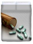 Spilled Medication Duvet Cover