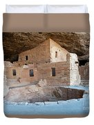 Spruce Tree House Mesa Verde National Park Duvet Cover