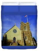 St. Andrews-by-the-sea Duvet Cover