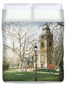 St Johns Church Wapping London Duvet Cover