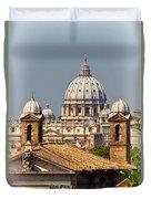 St Peters Basilica Duvet Cover