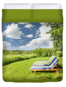 Summer Relaxing Duvet Cover by Elena Elisseeva