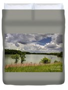 3-summer Time At Moraine View State Park Duvet Cover