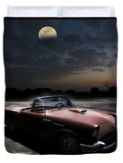 Sweet Dreams Of Route 66 Duvet Cover