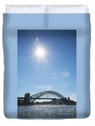 Sydney Harbour Bridge In Australia  Duvet Cover