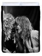Tesla - Jeff Keith Duvet Cover