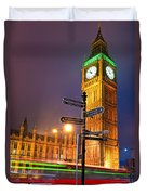 The Big Ben - London Duvet Cover