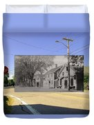 The Commons In Little Compton Rhode Island Duvet Cover