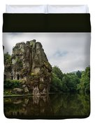 The Externsteine Duvet Cover