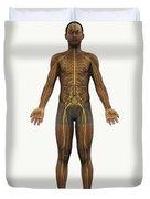 The Nerves Of The Body Duvet Cover