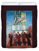 The Rat Pack Duvet Cover