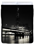 The Shard And London Bridge Duvet Cover
