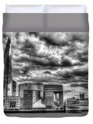 The Shard And South Bank Duvet Cover