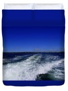 The Wake Of The Island Queen Duvet Cover