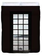 Through An Old Window Duvet Cover