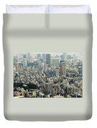 Tokyo, Japan Duvet Cover