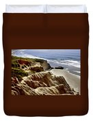 Torrey Pines State Park - California Duvet Cover
