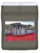 Tower Of London Poppies Duvet Cover