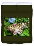 Tree Nymph Butterfly Duvet Cover