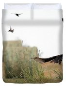 Turkey Vultures Duvet Cover