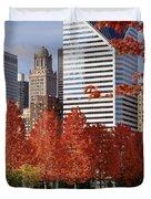 Usa, Illinois, Chicago, Millennium Duvet Cover