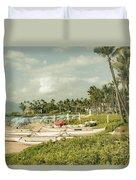 Wailea Beach Maui Hawaii Duvet Cover by Sharon Mau