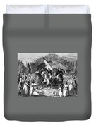 Washington Trenton, 1789 Duvet Cover