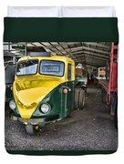 3 Wheeler Truck Duvet Cover