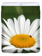 Wildflower Named Oxeye Daisy Duvet Cover