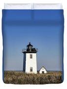 Wood End Lighthouse Duvet Cover