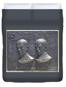 Wright Brothers Memorial Duvet Cover