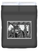 Wwi Soldiers, 1918 Duvet Cover