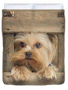Yorkshire Terrier Dog Duvet Cover