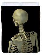 Bones Of The Upper Body Duvet Cover