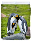 King Penguin Duvet Cover